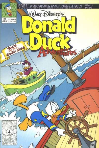 Walt Disney's Donald Duck Adventures #26 comic books - cover scans photos Walt Disney's Donald Duck Adventures #26 comic books - covers, picture gallery