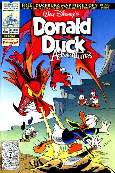 Walt Disney's Donald Duck Adventures #27 Comic Books - Covers, Scans, Photos  in Walt Disney's Donald Duck Adventures Comic Books - Covers, Scans, Gallery