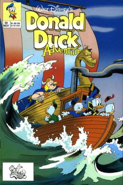 Walt Disney's Donald Duck Adventures #30 comic books - cover scans photos Walt Disney's Donald Duck Adventures #30 comic books - covers, picture gallery