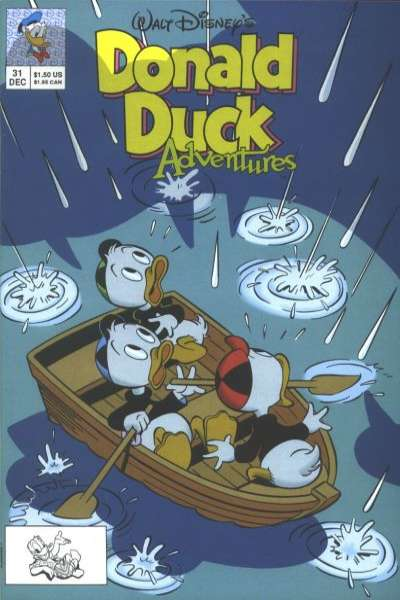 Walt Disney's Donald Duck Adventures #31 comic books - cover scans photos Walt Disney's Donald Duck Adventures #31 comic books - covers, picture gallery