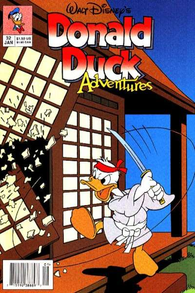 Walt Disney's Donald Duck Adventures #32 comic books - cover scans photos Walt Disney's Donald Duck Adventures #32 comic books - covers, picture gallery