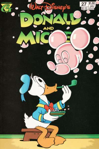 Walt Disney's Donald and Mickey #27 comic books for sale