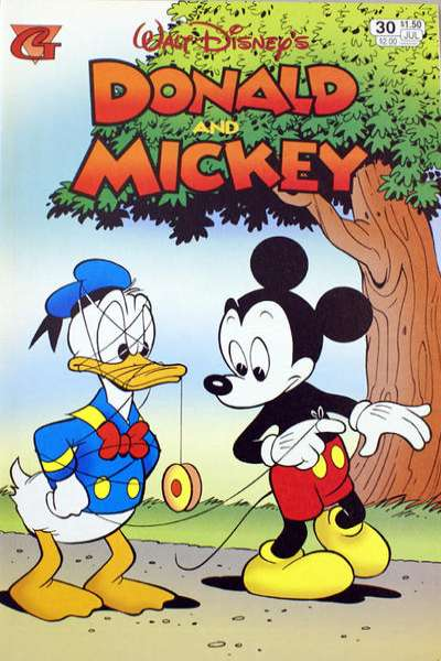 Walt Disney's Donald and Mickey #30 comic books for sale