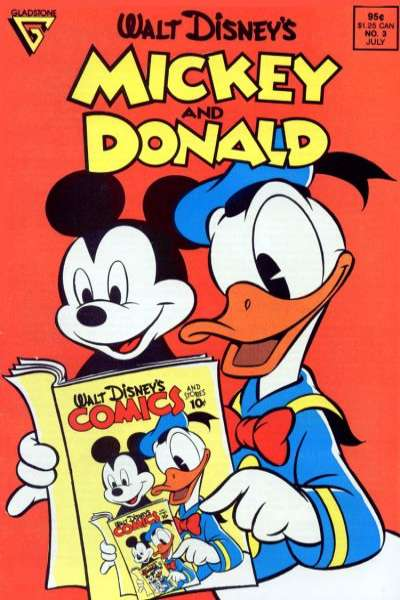 Walt Disney's Mickey and Donald #3 comic books for sale