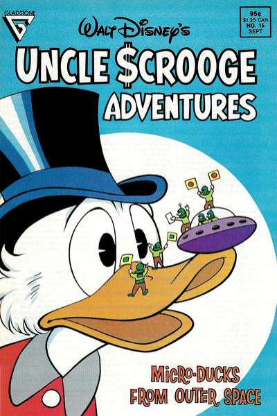 Walt Disney's Uncle Scrooge Adventures #15 comic books for sale