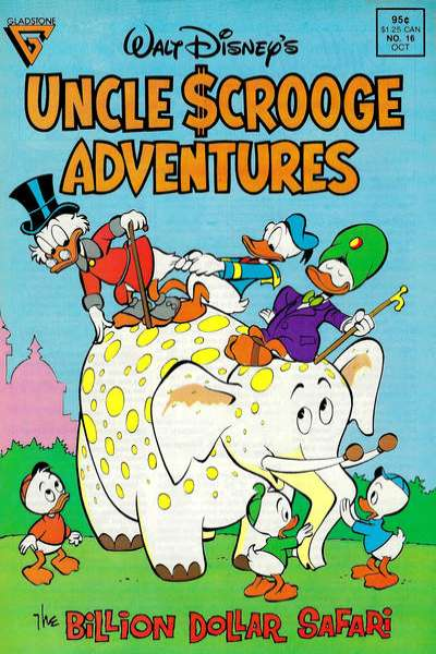 Walt Disney's Uncle Scrooge Adventures #16 comic books for sale