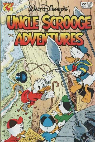 Walt Disney's Uncle Scrooge Adventures #22 comic books for sale
