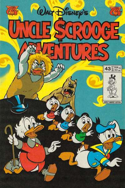 Walt Disney's Uncle Scrooge Adventures #43 comic books for sale