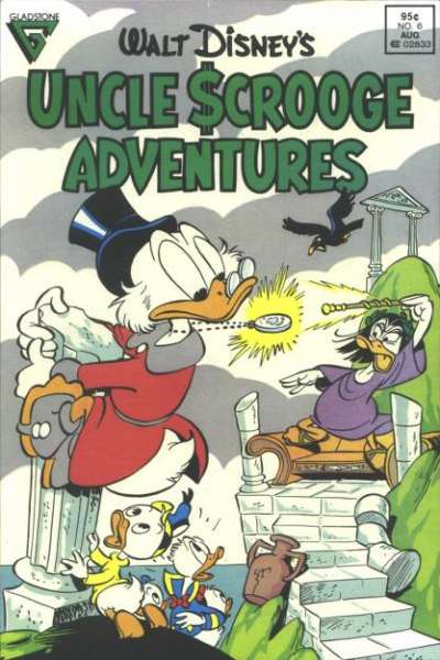 Walt Disney's Uncle Scrooge Adventures #6 Comic Books - Covers, Scans, Photos  in Walt Disney's Uncle Scrooge Adventures Comic Books - Covers, Scans, Gallery