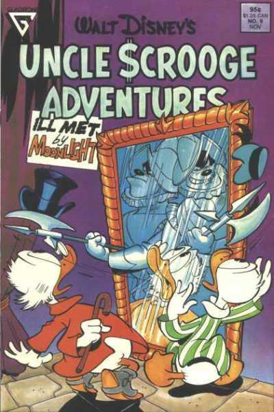 Walt Disney's Uncle Scrooge Adventures #9 comic books for sale