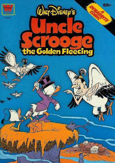 Walt Disney's Uncle Scrooge The Golden Fleecing Comic Books. Walt Disney's Uncle Scrooge The Golden Fleecing Comics.