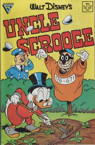 Walt Disney's Uncle Scrooge #226 comic books for sale