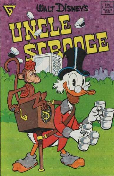 Walt Disney's Uncle Scrooge #228 Comic Books - Covers, Scans, Photos  in Walt Disney's Uncle Scrooge Comic Books - Covers, Scans, Gallery