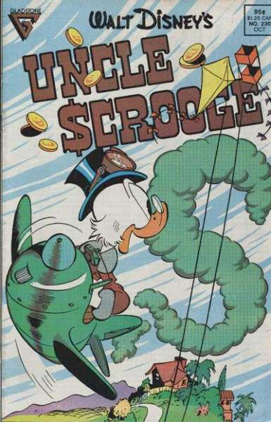 Walt Disney's Uncle Scrooge #230 Comic Books - Covers, Scans, Photos  in Walt Disney's Uncle Scrooge Comic Books - Covers, Scans, Gallery