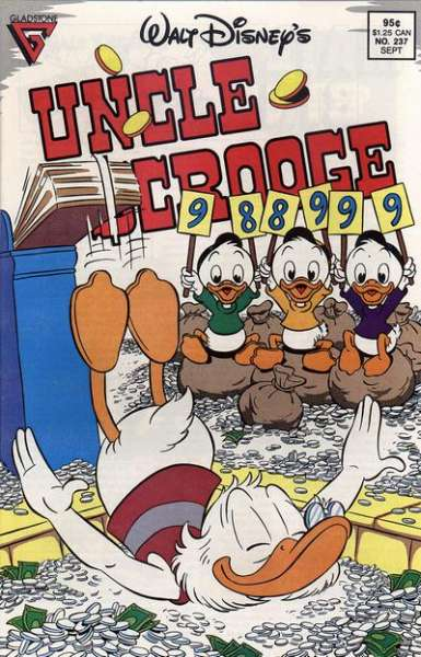 Walt Disney's Uncle Scrooge #237 comic books for sale