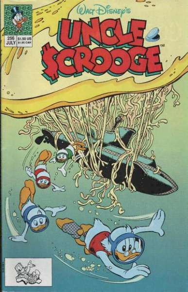 Walt Disney's Uncle Scrooge #256 comic books for sale