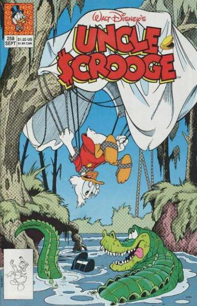 Walt Disney's Uncle Scrooge #258 Comic Books - Covers, Scans, Photos  in Walt Disney's Uncle Scrooge Comic Books - Covers, Scans, Gallery