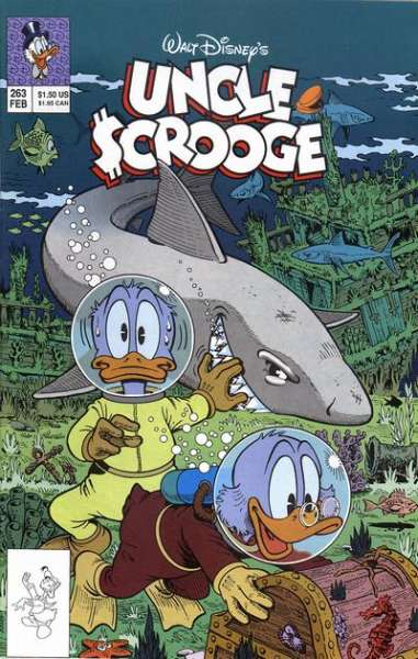 Walt Disney's Uncle Scrooge #263 comic books for sale