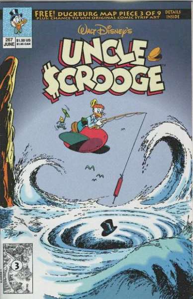 Walt Disney's Uncle Scrooge #267 comic books for sale
