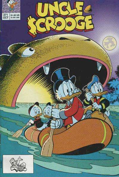 Walt Disney's Uncle Scrooge #271 Comic Books - Covers, Scans, Photos  in Walt Disney's Uncle Scrooge Comic Books - Covers, Scans, Gallery