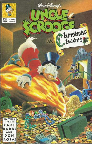 Walt Disney's Uncle Scrooge #275 Comic Books - Covers, Scans, Photos  in Walt Disney's Uncle Scrooge Comic Books - Covers, Scans, Gallery