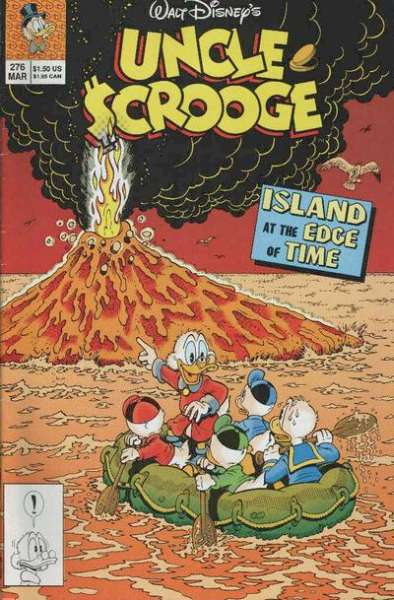 Walt Disney's Uncle Scrooge #276 Comic Books - Covers, Scans, Photos  in Walt Disney's Uncle Scrooge Comic Books - Covers, Scans, Gallery