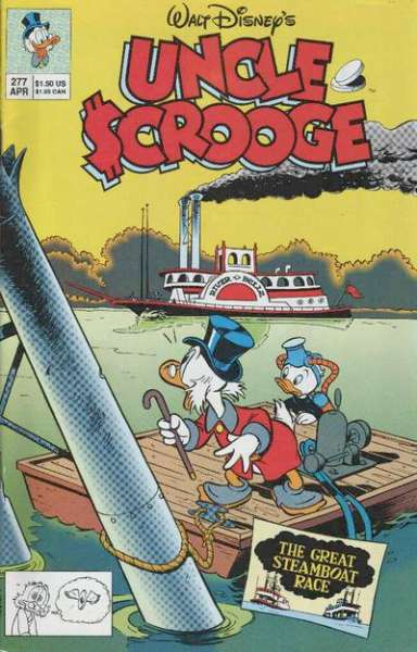 Walt Disney's Uncle Scrooge #277 Comic Books - Covers, Scans, Photos  in Walt Disney's Uncle Scrooge Comic Books - Covers, Scans, Gallery