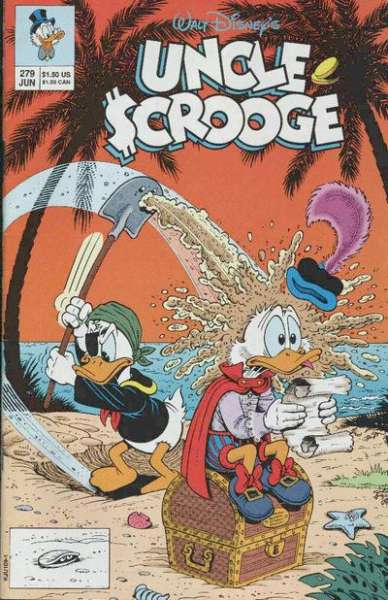Walt Disney's Uncle Scrooge #279 Comic Books - Covers, Scans, Photos  in Walt Disney's Uncle Scrooge Comic Books - Covers, Scans, Gallery