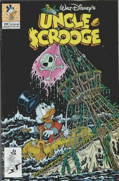 Walt Disney's Uncle Scrooge #280 Comic Books - Covers, Scans, Photos  in Walt Disney's Uncle Scrooge Comic Books - Covers, Scans, Gallery