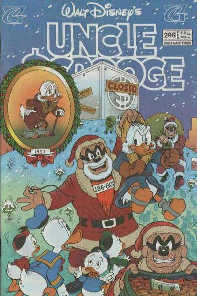 Walt Disney's Uncle Scrooge #296 Comic Books - Covers, Scans, Photos  in Walt Disney's Uncle Scrooge Comic Books - Covers, Scans, Gallery