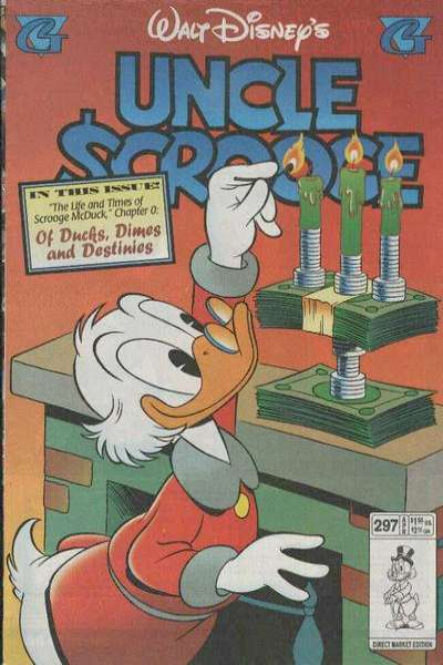 Walt Disney's Uncle Scrooge #297 Comic Books - Covers, Scans, Photos  in Walt Disney's Uncle Scrooge Comic Books - Covers, Scans, Gallery