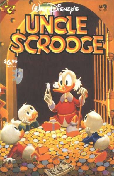Walt Disney's Uncle Scrooge #309 Comic Books - Covers, Scans, Photos  in Walt Disney's Uncle Scrooge Comic Books - Covers, Scans, Gallery
