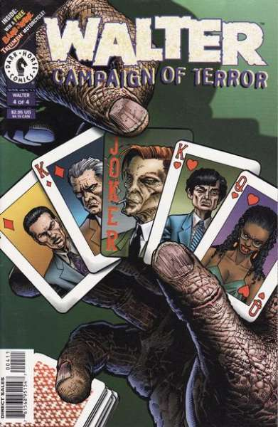 Walter: Campaign of Terror #4 comic books for sale