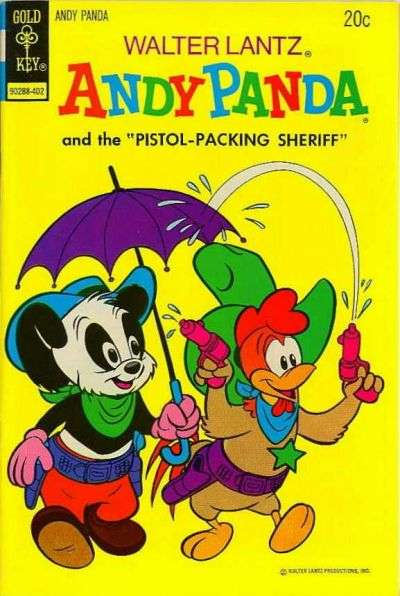 Walter Lantz Andy Panda #3 Comic Books - Covers, Scans, Photos  in Walter Lantz Andy Panda Comic Books - Covers, Scans, Gallery