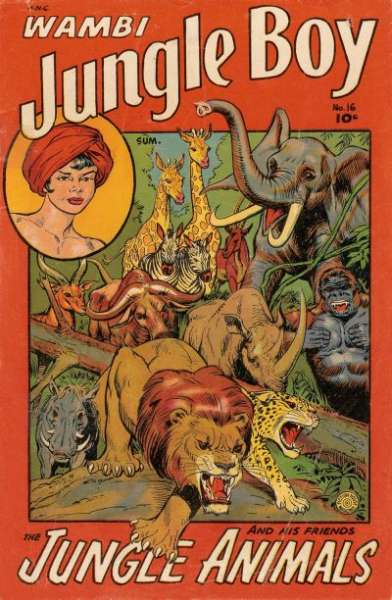 Wambi: Jungle Boy #16 Comic Books - Covers, Scans, Photos  in Wambi: Jungle Boy Comic Books - Covers, Scans, Gallery