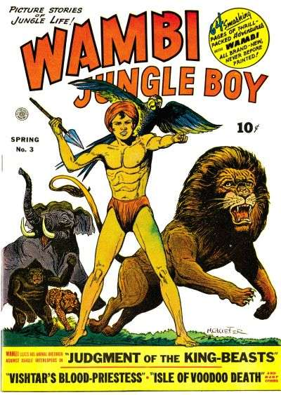 Wambi: Jungle Boy #3 Comic Books - Covers, Scans, Photos  in Wambi: Jungle Boy Comic Books - Covers, Scans, Gallery