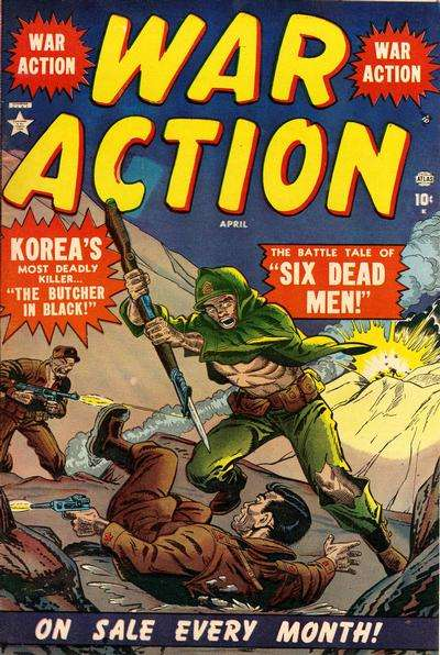 War Action Comic Books. War Action Comics.