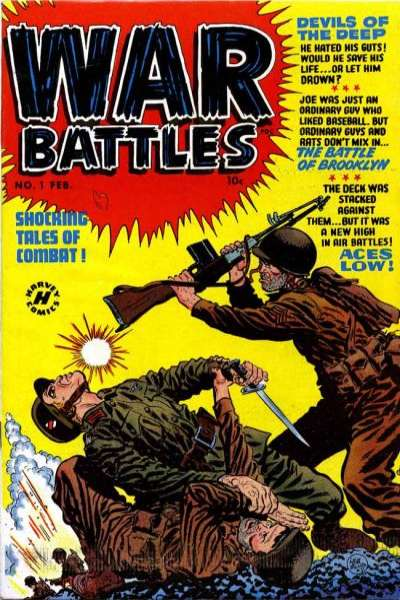 War Battles Comic Books. War Battles Comics.