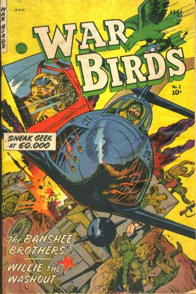 War Birds Comic Books. War Birds Comics.
