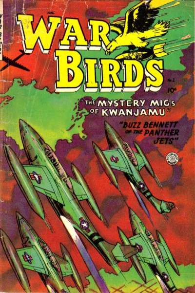 War Birds #2 comic books for sale
