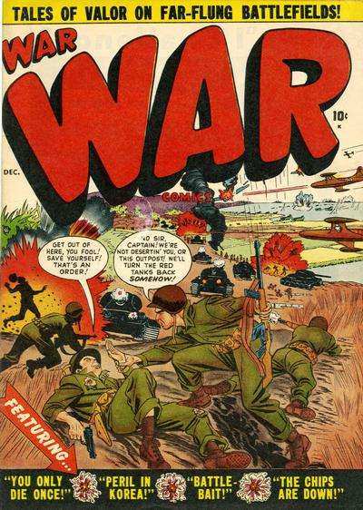 War Comics comic books
