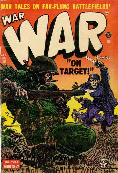 War Comics #18 Comic Books - Covers, Scans, Photos  in War Comics Comic Books - Covers, Scans, Gallery