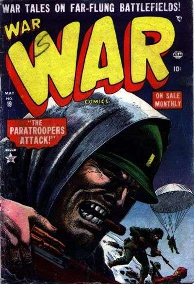 War Comics #19 comic books - cover scans photos War Comics #19 comic books - covers, picture gallery