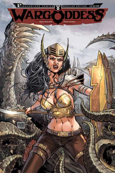War Goddess #0 comic books - cover scans photos War Goddess #0 comic books - covers, picture gallery
