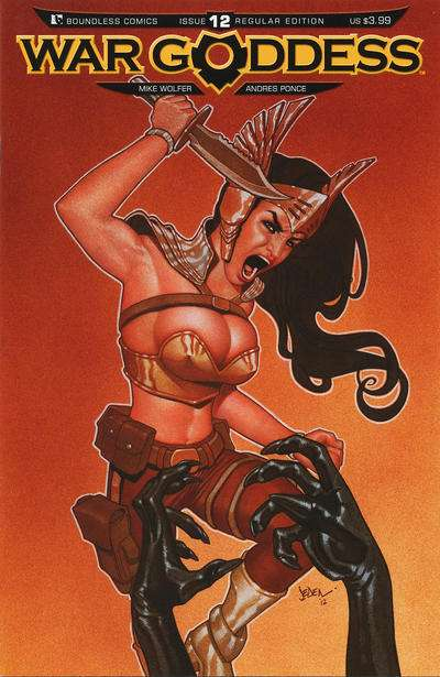 War Goddess #12 comic books for sale