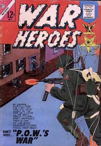 War Heroes #9 Comic Books - Covers, Scans, Photos  in War Heroes Comic Books - Covers, Scans, Gallery