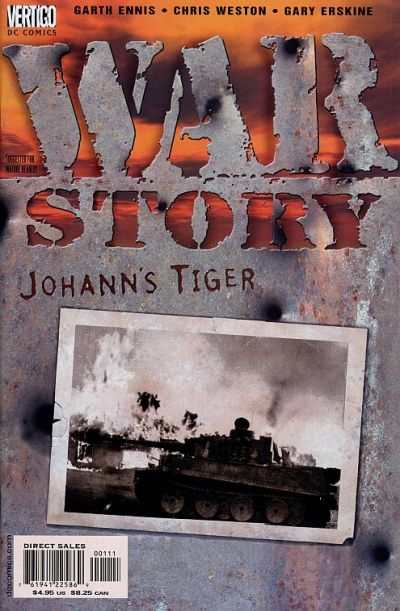 War Story: Johann's Tiger Comic Books. War Story: Johann's Tiger Comics.