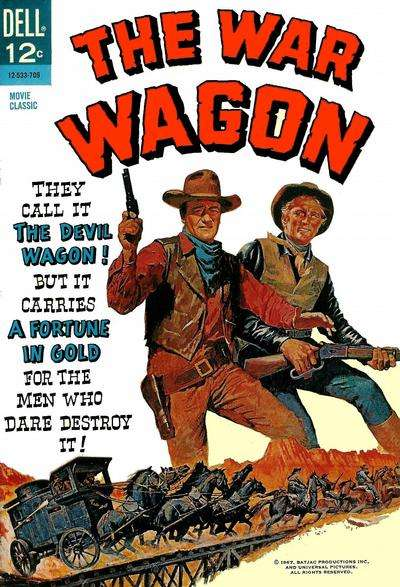 War Wagon comic books