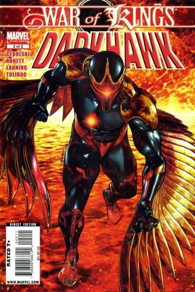 War of Kings: Darkhawk #2 comic books for sale