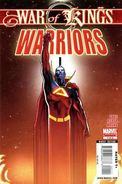 War of Kings: Warriors Comic Books. War of Kings: Warriors Comics.